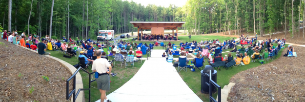 Nature Park Amphitheater Draws a Crowd