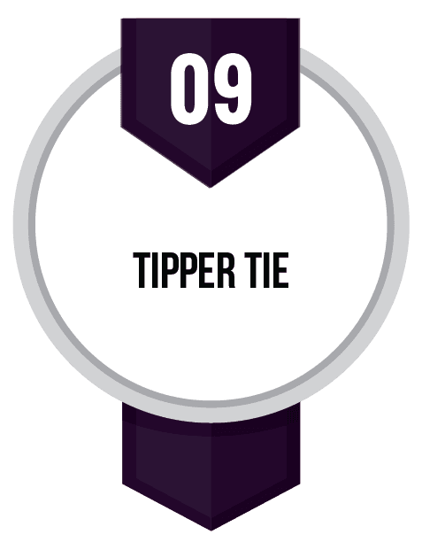 Tipper Tie Opens in new window