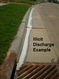 Illicit Discharge Example