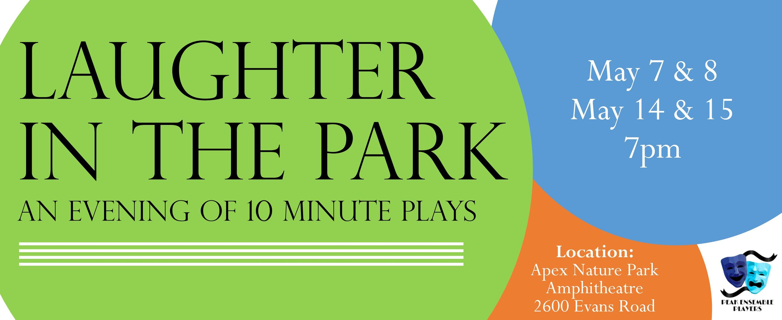 Laughter In The Park BANNER
